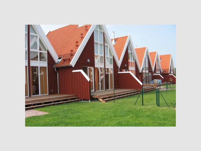 Sanierung und Erweiterung einer Ferienhausanlage Brodauer Düne
